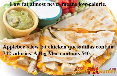 "Don't be Conned by The ""Low Fat"" Spiel"