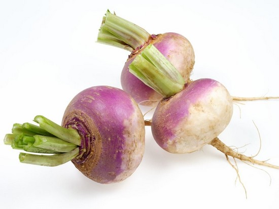 Turnips zero calories
